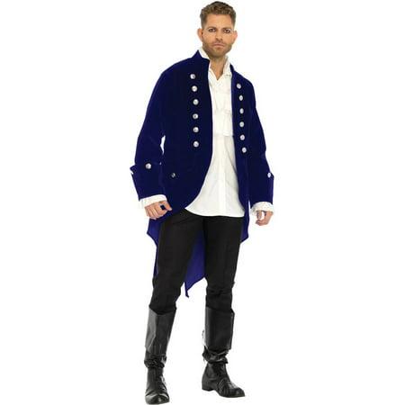 Long Velvet Coat Men's Adult Halloween - Velvet Cake Halloween