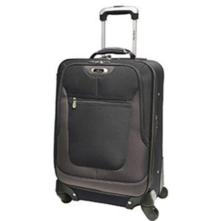 67db5c1c9 Skyway by Ricardo Beverly Hills 450-20-001-4WB 4 Wheel Expandable Spinner  Carry-On - Black - Walmart.com
