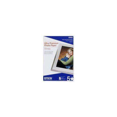 Epson S041945 Epson Ultra Premium Photo Paper - 5 inch x 7 inch - Glossy - Bright White