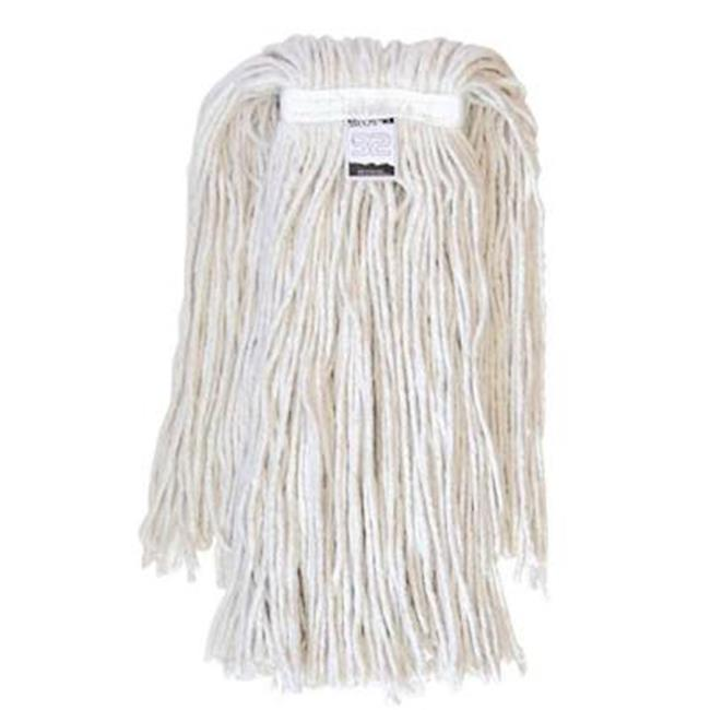 EmscoGroup 6503 No. 32 Cotton Mop Head With Cut-Ends, 23 oz. by EmscoGroup