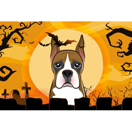 Halloween Boxer Fabric Placemat BB1781PLMT - Halloween Placemat Printable