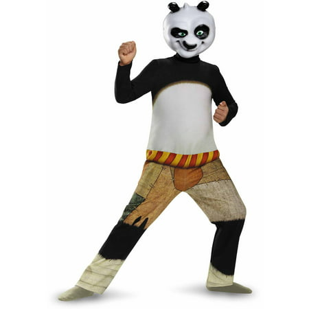 Kung Fu Panda Po Child Halloween Dress Up / Role Play Costume - Child Panda Halloween Costume