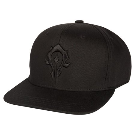 World of Warcraft Horde Blackout Snapback Hat