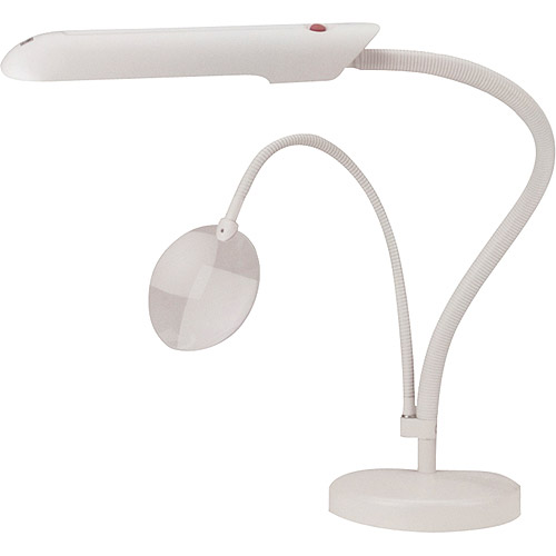 Daylight Table Top Craft Lamp, White