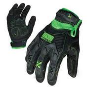 IRONCLAD EXO-MIG-04-L Large Black TPR Closure Cuff Impact Utility Glove