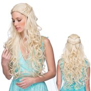 Empress Barbarian Queen Long Blonde Wig