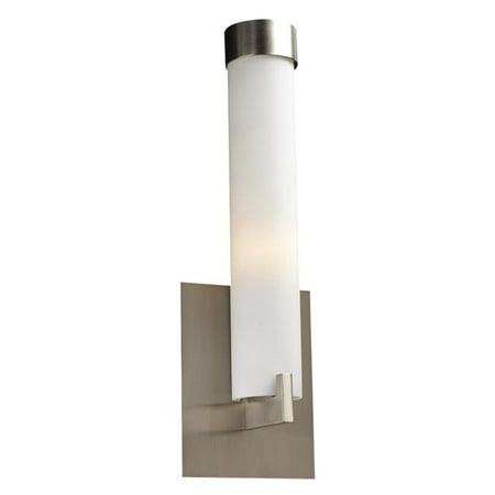 Plc Setting (PLC 932SNLED Polipo Satin Nickel LED 1 Wall)