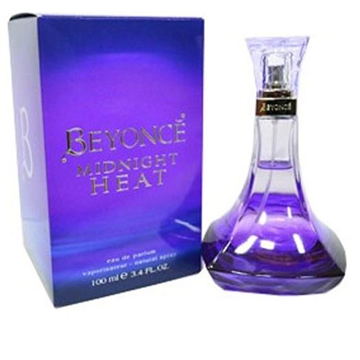 Beyonce Midnight Heat Women Eau De Parfum Spray, 3.4 Oz + LA Cross Manicure 74858