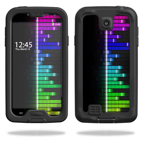 Mightyskins Protective Vinyl Skin Decal Cover for LifeProof Samsung Galaxy S4 Case fre wrap sticker skins Keep The Beat
