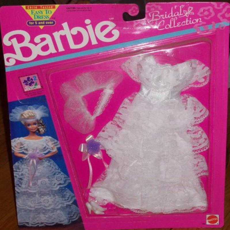 Barbie Bridal Collection Lace Ruffle Wedding Dress