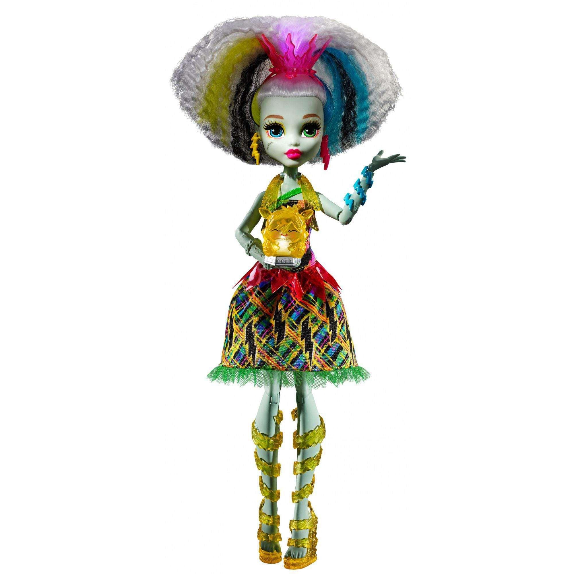 Monster High Electrified High Voltage Frankie Stein Doll by Mattel