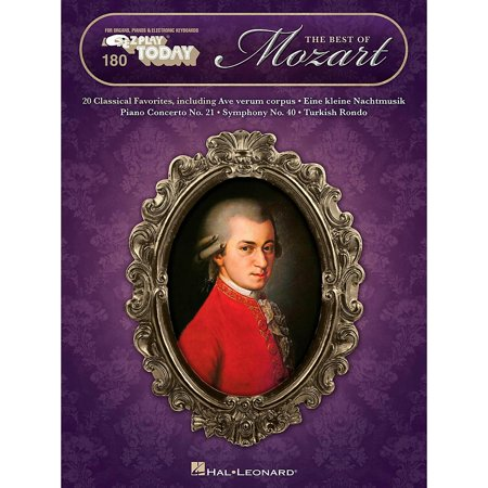 Hal Leonard The Best Of Mozart E-Z Play Today Volume (Best Toys For 3 And 4 Year Olds)