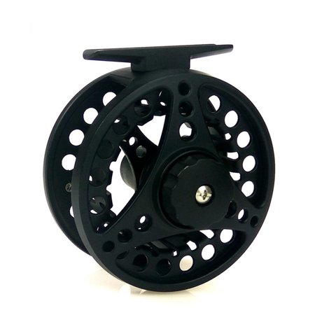 Fly Fishing Professional Reels (Fly Fishing Reel with Diecast CNC-machined Aluminum Alloy Body 7/8 Weights Color:Black)