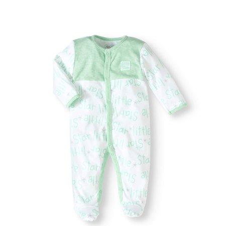 9aed658fee Newborn Baby Boy or Girl Unisex Footed Coverall Sleep  N Play ...