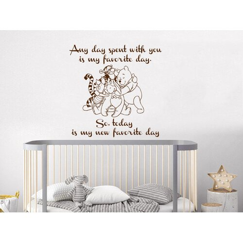 Decal House Classic Winnie the Pooh Wall Decal