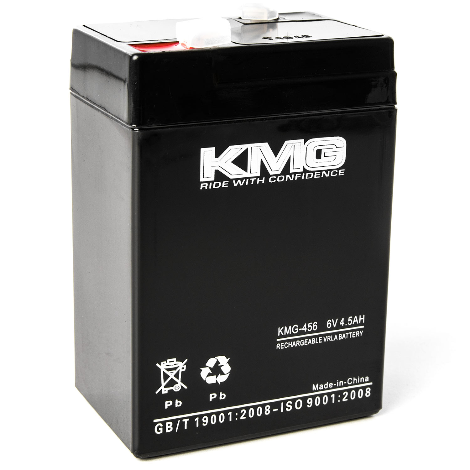 KMG 6 Volts 4.5Ah Replacement Battery for Eagle Pitcher CFM6V4.6 - image 3 of 3