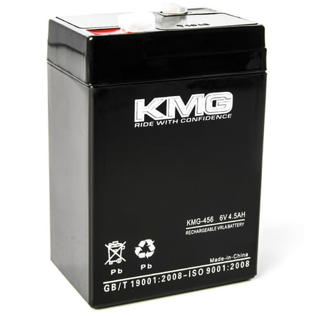 KMG 6 Volts 4.5Ah Replacement Battery for Baxter Healthcare XYGEN/ ERICSSON STAT MET Ericsson Stat Meter