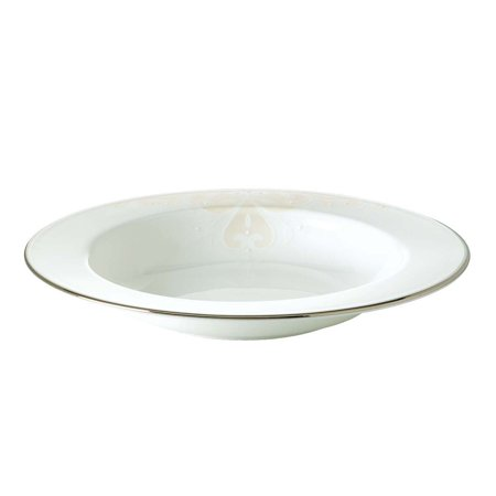 Lenox Royal Scroll - Opal Innocence Scroll Rim Bowl, Carved 13Inch Legacy 918Inch platinum white Innocence Dinner GoldBanded Dinnerware Bowl Banded Gold Autumn.., By Lenox Ship from US