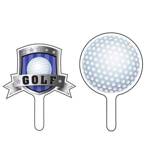 Golf Party Cupcake Picks