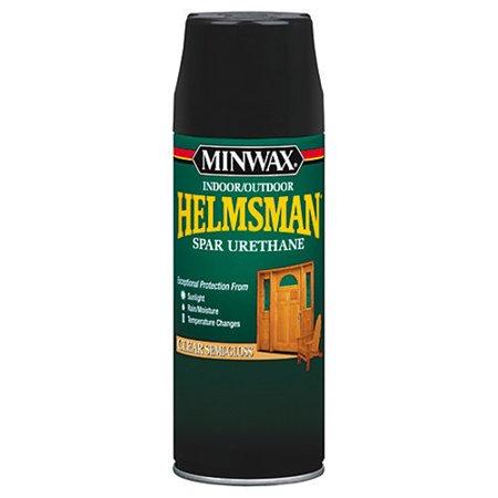 Minwax Helmsman Clear Semi-Gloss Spray Finish, 11.5 Oz. Spray Wood Finish
