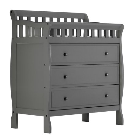 Dream On Me Marcus Changing Table And Dresser Storm Gray