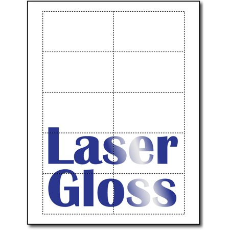 Photo glossy business card sheets for laser printers copiers 25 photo glossy business card sheets for laser printers copiers 25 sheets 250 business reheart