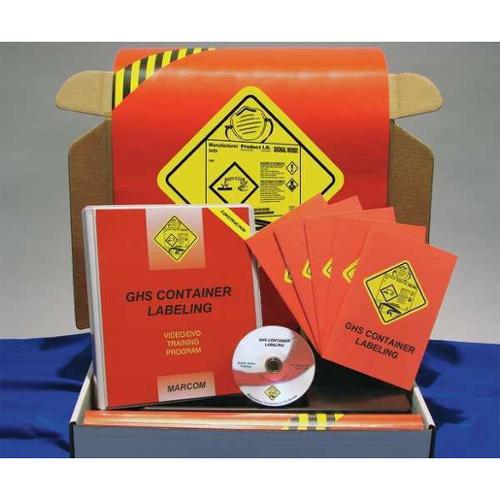 Marcom K0001619ET GHS Labeling Const Kit, w/ Poster/Book