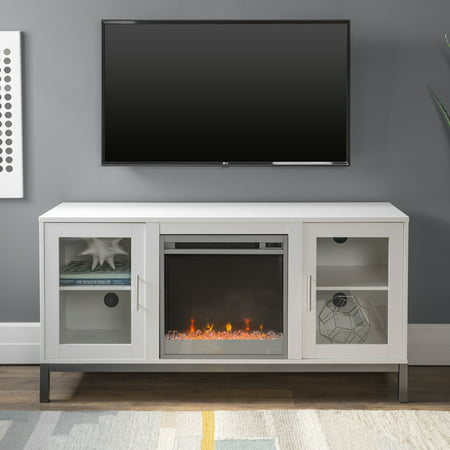 Park Place Two Light - Manor Park Modern Fireplace TV Stand for TV's up to 56