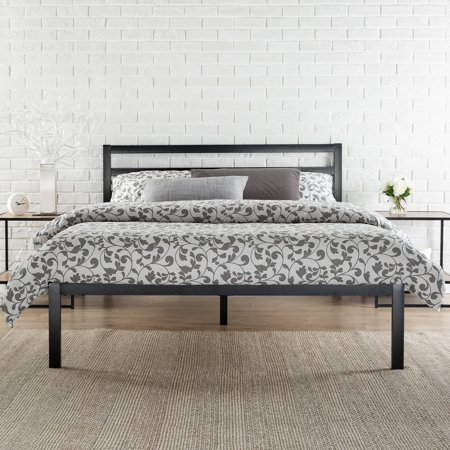 Zinus 14 Quot Metal Platform Bed With Headboard Multiple