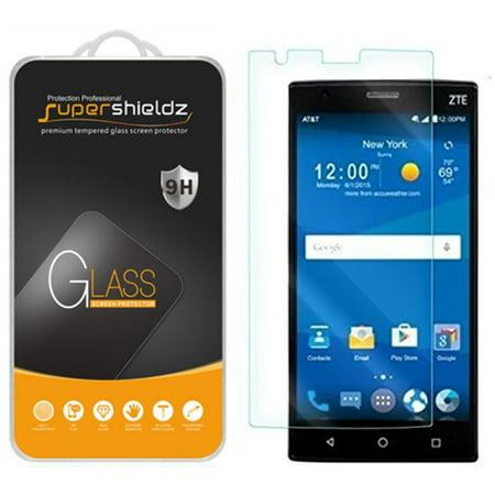 [2-Pack] Supershieldz for ZTE Zmax 2 Tempered Glass Screen Protector, Anti-Scratch, Anti-Fingerprint, Bubble