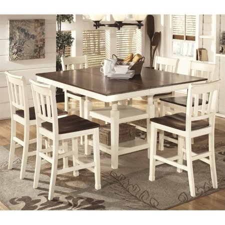 Ashley Whitesburg 7 Piece Counter Height Dining Set In