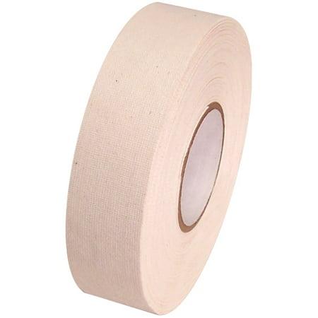 White Cloth Hockey Tape (White Cloth Hockey Stick Tape 1 inch x 25)
