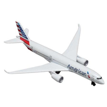 Diecast Metal Aircraft Toy Commercial Airplane - American Airlines Airbus A350