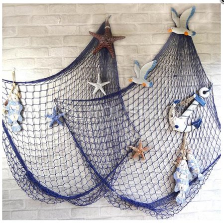 Fish Net Hose (Mediterranean Style Decorative Fish Net 39