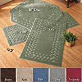 - Herringbone Trim Accent Rugs , Runner