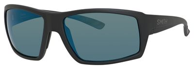 Smith Optics Challis Chromapop Sunglasses Matte Black//Blue Mirror Medium//Large ChallisS