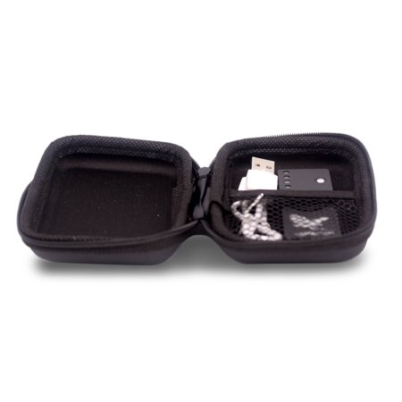 Shadow Spinners Pocket - Galaxy Fidget Spinner LED USB Windproof Cigarette Lighter Metal (Black)