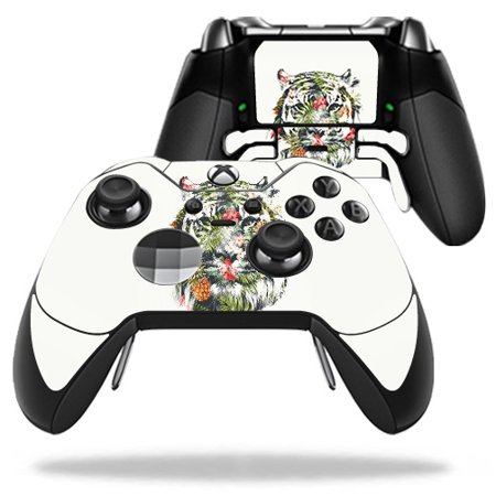 Skin For Microsoft Xbox One Elite Controller - Jungle Tiger | Protective, Durable, and Unique Vinyl Decal wrap cover | Easy To Apply, Remove, and Change Styles