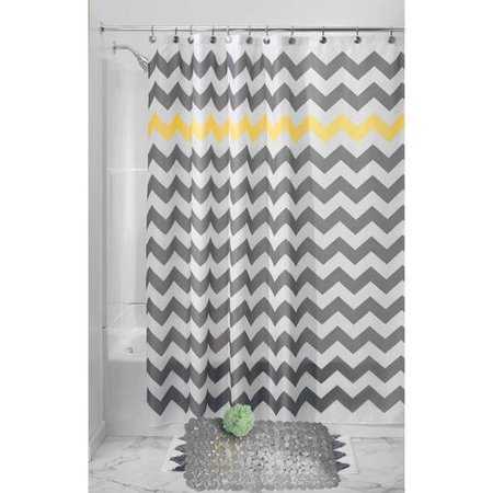 Create Your Bathroom Shower Curtain and Bath Tub Mat Bundle