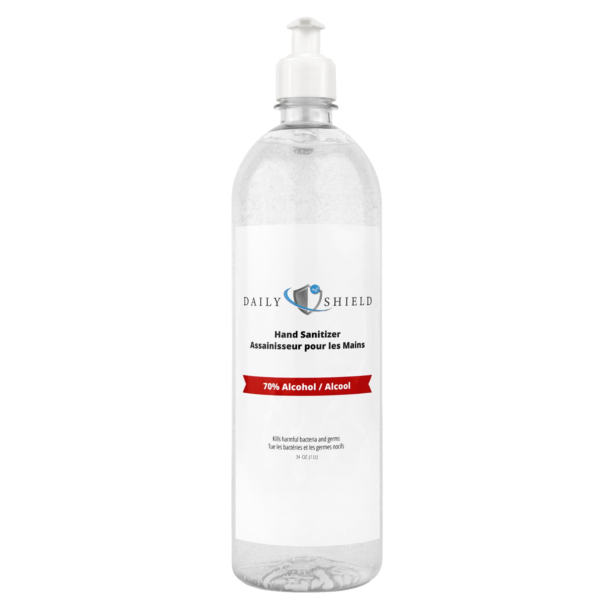 Hand Sanitizer Platinum Daily Shield 1L Pump | Walmart Canada