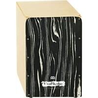Meinl VivaRhythm Birch Wood Snare Cajon Striped Onyx