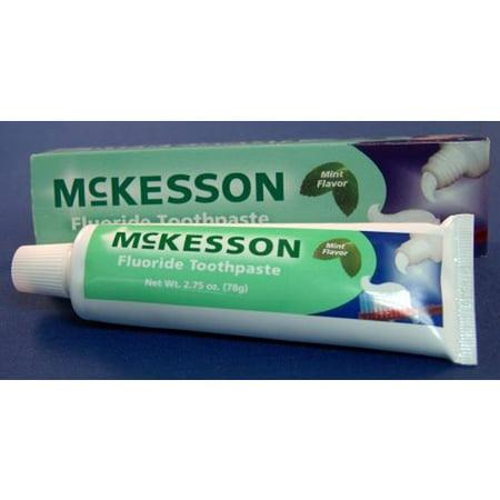 Toothpaste Malt Flavor (McKesson Toothpaste 16-9571 1.5 oz 1 Each, Mint Flavor)