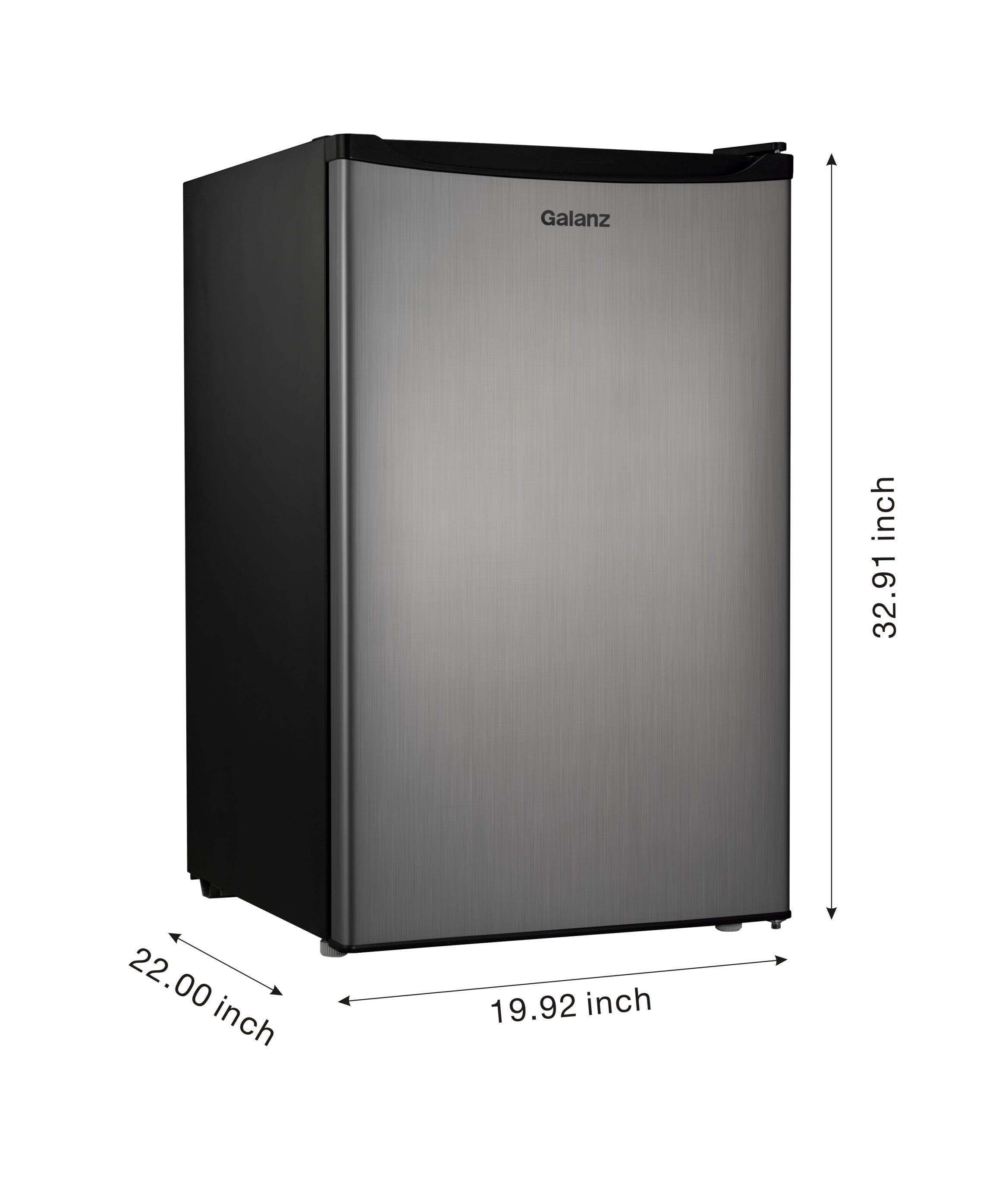 Galanz 4 3 Cu Ft Single Door Compact Refrigerator GL43S5