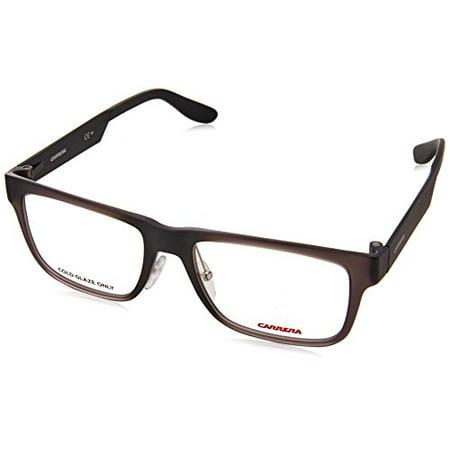 Carrera 5534 Eyeglass Frames CA5534-0MVE-5317 - Gray / Matte Black ...