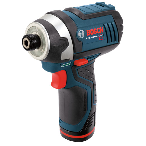 Bosch PS41-2A Cordless Impact Driver Kit, 12 V, Li-Ion, 1.3 Ah, 0 - 3100 bpm