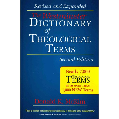 The Westminster Dictionary of Theological Terms
