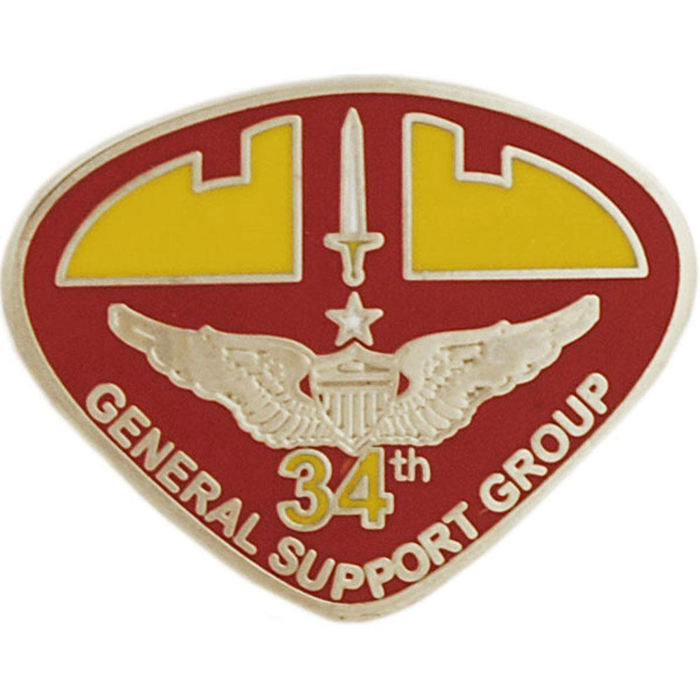 U.S. Army 34th General Support Group Pin 1