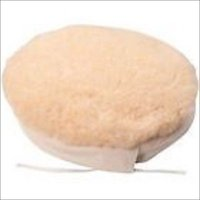 """9"""" Wool Buffing Wheel Pad Bonnet Tie On for Electric Car Auto Polisher Tool"""