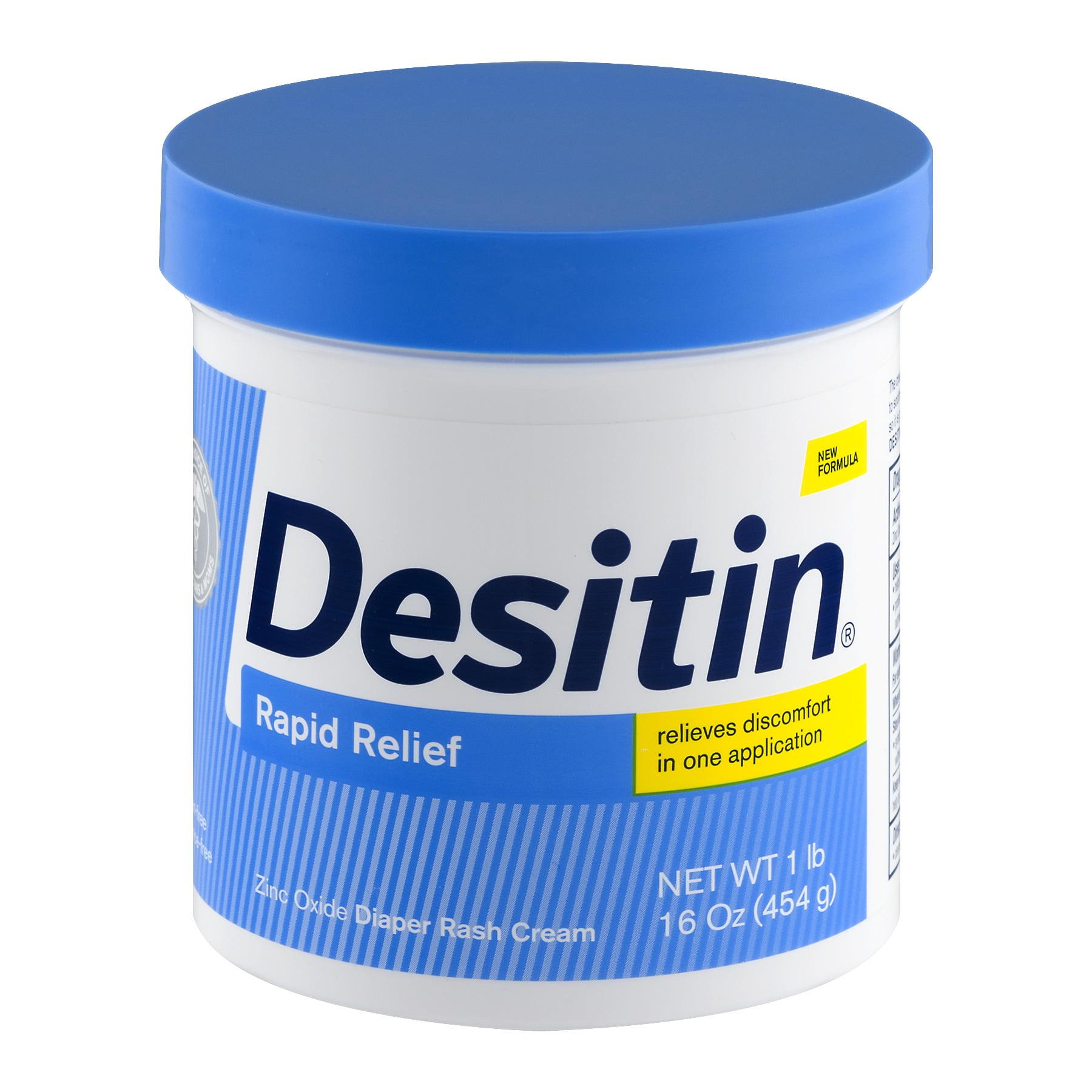 Desitin Rapid Relief Diaper Rash Cream, 16.0 OZ