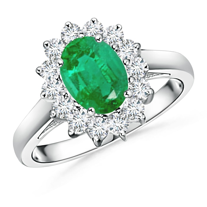 Angara May Birthstone Ring Princess Diana Inspired Emerald